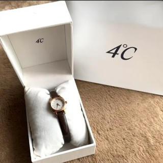ヨンドシー(4℃)の4℃腕時計(腕時計)