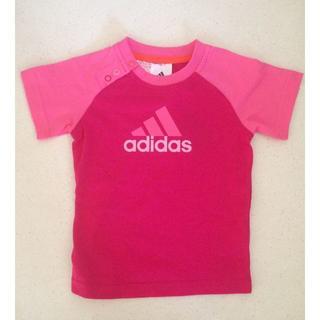 アディダス(adidas)の新品・タグ付き アディダス ベビーTシャツ(Tシャツ)
