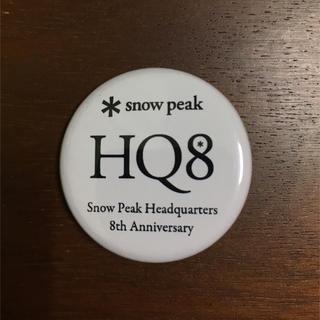スノーピーク(Snow Peak)の【非売品】スノーピーク 缶バッチ(その他)