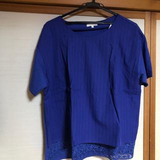 スタディオクリップ(STUDIO CLIP)の新品❤️裾レースブラウス(Tシャツ(半袖/袖なし))