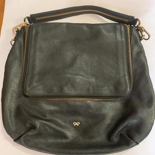 アニヤハインドマーチ(ANYA HINDMARCH)のアニヤハインドマーチ マキシジップ ショルダーバッグ 保存袋付き(ショルダーバッグ)