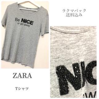 ザラ(ZARA)のZARA Tシャツ  半袖(Tシャツ(半袖/袖なし))