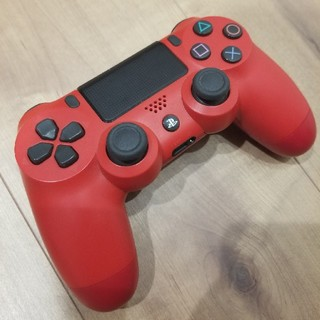 プレイステーション4(PlayStation4)のPS4 新型コントローラーマグマレッド(その他)