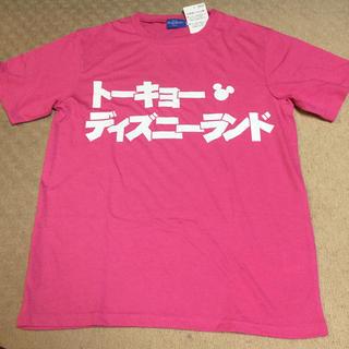 ディズニー(Disney)の東京ディズニーランド Tシャツ ピンク Lサイズ(Tシャツ(半袖/袖なし))