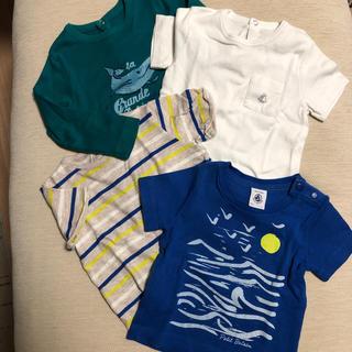 プチバトー(PETIT BATEAU)のプチバトー ティーシャツセット(Tシャツ)