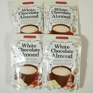 ホワイトチョコアーモンドラテ  100グラム 4袋(茶)