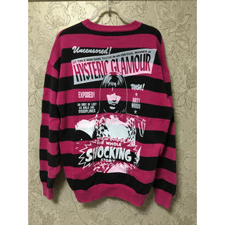 HYSTERIC GLAMOUR - 新着HYSTERIC GLAMOURのニット