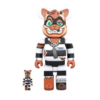 MEDICOM TOY - Be@rbrick scratch 400%+100% 新品