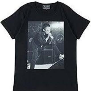【新品未開封  XLサイズ】Amplifier 甲本ヒロト Tシャツ 黒色(ミュージシャン)
