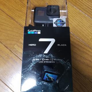 ゴープロ(GoPro)の新品 GoPro HERO 7 BLACK CHDHX-701-FW 国内正規品(コンパクトデジタルカメラ)