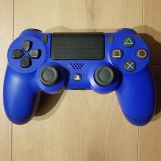 プレイステーション4(PlayStation4)のPS4  コントローラー新型ブルー(その他)