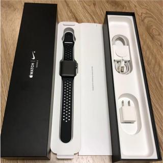 アップルウォッチ(Apple Watch)のアップルウォッチ シリーズ3 GPS 42mm NIKE(腕時計(デジタル))