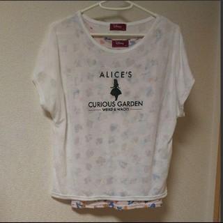 ディズニー(Disney)のディズニー 不思議の国のアリス Tシャツ×タンクトップ(Tシャツ(半袖/袖なし))