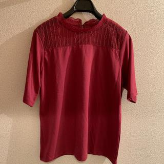 ショコラフィネローブ(chocol raffine robe)のGreen  Parks レースハイネック(カットソー(半袖/袖なし))