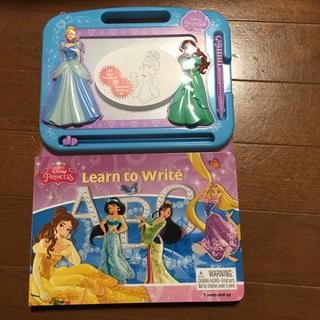 ディズニー(Disney)の新品 ディズニープリンセス 絵本 マジックボード(キャラクターグッズ)