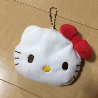 ハローキティ(ハローキティ)の未使用品♡キティちゃん ぬいぐるみケース キーホルダー♡(キャラクターグッズ)