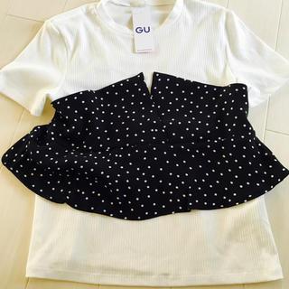 ジーユー(GU)のサイズM(Tシャツ(半袖/袖なし))