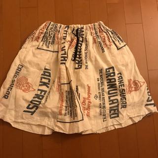 デニムダンガリー(DENIM DUNGAREE)のデニム&ダンガリー スカート size120(スカート)