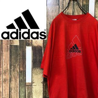 アディダス(adidas)の【激レア】アディダス☆バックプリント入りパフォーマンスロゴTシャツ 90s(Tシャツ/カットソー(半袖/袖なし))
