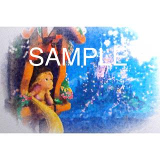 ディズニー(Disney)のラプンツェル ポスター 額縁付き(アート/写真)