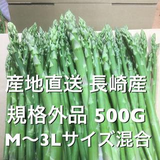 長崎産アスパラガス B品 500(野菜)