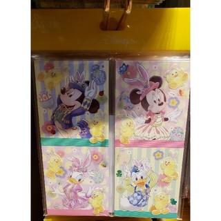 ディズニー(Disney)のディズニー・イースター/メモ帳セット(ノート/メモ帳/ふせん)