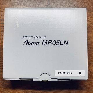 エヌイーシー(NEC)のLTEモバイルルーター Aterm MR05LN(1~2回使用)(PC周辺機器)
