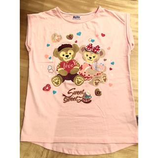 ディズニー(Disney)の香港ディズニー限定 ダッフィー&シェリーメイTシャツ(Tシャツ(半袖/袖なし))