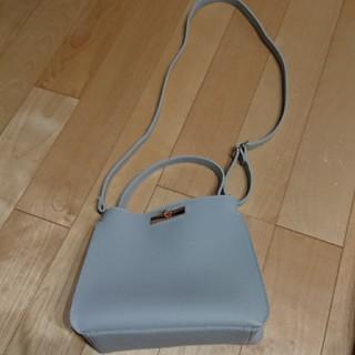 シマムラ(しまむら)の新品☆しまむら購入※薄グレー2WAYバッグ(ショルダーバッグ)