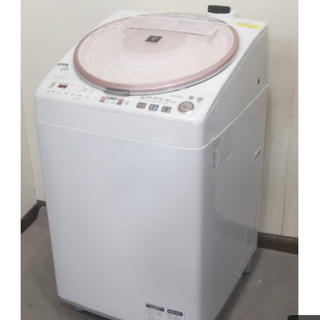 SHARP - SHARP 洗濯乾燥機 ES-TX810 プラズマクラスター7000搭載