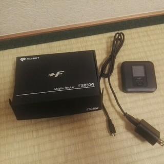 フジツウ(富士通)のSIMフリー モバイルWiFiルーター FS030W(PC周辺機器)