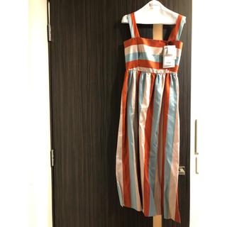 レッドヴァレンティノ(RED VALENTINO)のRED VALENTINO ロングドレス 新品未使用 タグ付き(ロングドレス)