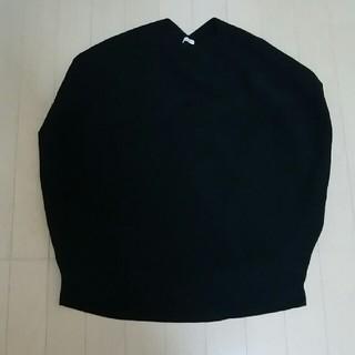 IENA - イエナコクーンニット半袖 ブラック