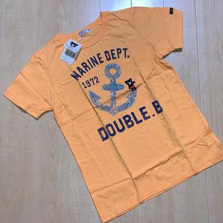 ダブルビー(DOUBLE.B)の★ダブルB★ミキハウス★ボタニカルマリン★半袖Tシャツ★150★バックプリント(Tシャツ/カットソー)