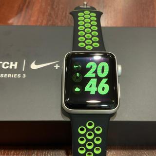アップルウォッチ(Apple Watch)の(純正品) Apple Watch series3 38mm NIKE+ GPS(腕時計(デジタル))