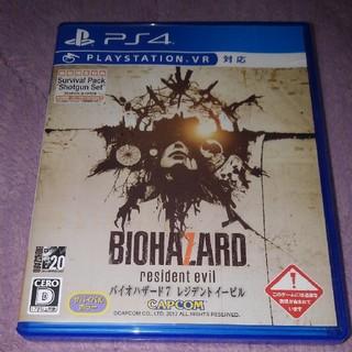 プレイステーション4(PlayStation4)のバイオハザード7  レジデントイービル(家庭用ゲームソフト)
