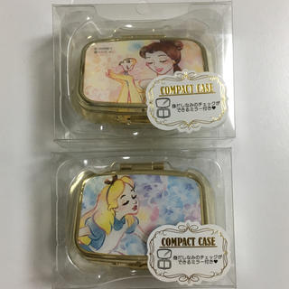 ディズニー(Disney)の【新品未使用】送料無料!ディズニー コンパクトケース2個セット(小物入れ)