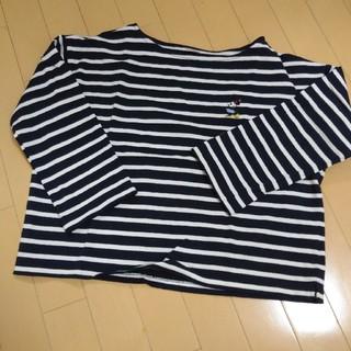 ディズニー(Disney)のミニーちゃん ♡ ボーダーT(Tシャツ(長袖/七分))