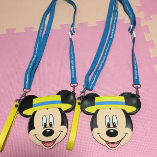 ディズニー(Disney)のバケパ チケットホルダー(キャラクターグッズ)