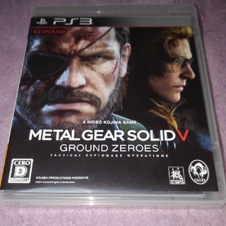 プレイステーション3(PlayStation3)のメタルギアソリッドV グラウンドゼロズ(家庭用ゲームソフト)