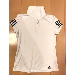 アディダス(adidas)のadidas アディダス テニスウェア ポロシャツ レディース(ウェア)