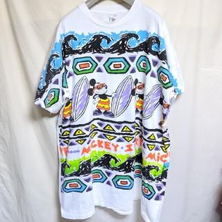 ディズニー(Disney)の90'sDisneyミッキーマウス ロングTシャツ(Tシャツ/カットソー(半袖/袖なし))