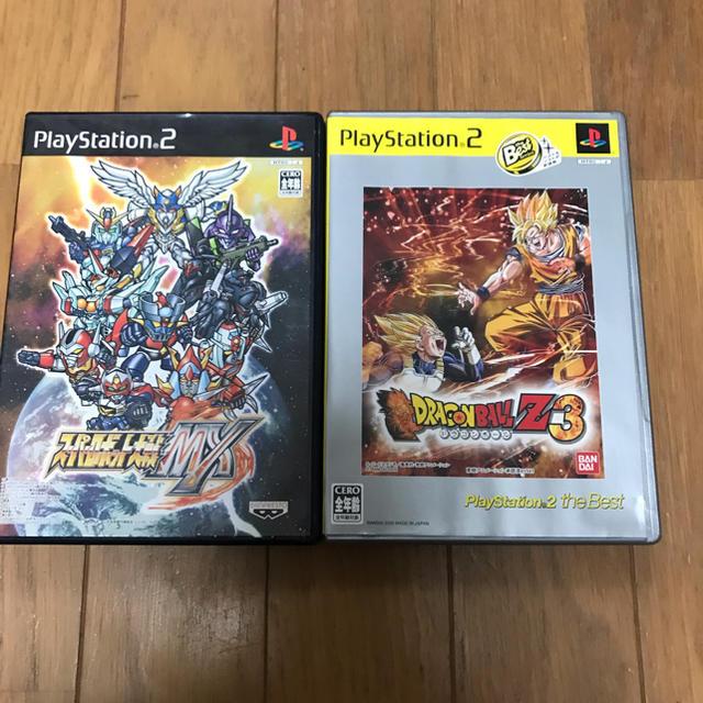 PlayStation2(プレイステーション2)のスーパーロボット大戦MX ドラゴンボールZ3 セット売り エンタメ/ホビーのテレビゲーム(家庭用ゲームソフト)の商品写真