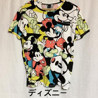 ディズニー(Disney)のディズニー 総柄 半袖プリントTシャツ (Tシャツ/カットソー(半袖/袖なし))