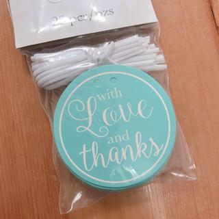 ティファニー(Tiffany & Co.)のサンキュータグ☆ティファニーブルー☆結婚式☆プチギフト(その他)