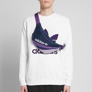 アディダス(adidas)のネイビー/パープル   ウエストバッグ(ボディバッグ/ウエストポーチ)