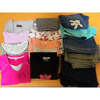 ユニクロ(UNIQLO)の子ども服 まとめ売り 女の子 150cm 13点(Tシャツ/カットソー)