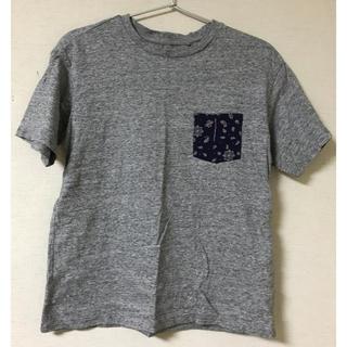 UNIQLO - UNIQLO  ペイズリー柄 ポケット Tシャツ 150