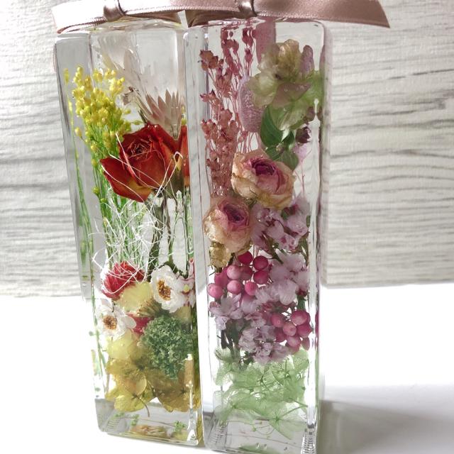 ハーバリウム  お花いっぱい バラ 母の日にピッタリ!! ハンドメイドのフラワー/ガーデン(その他)の商品写真