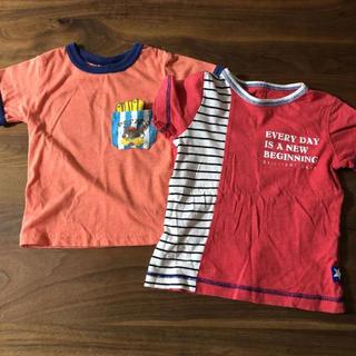 Tシャツ 2枚セット 男の子 100㎝(Tシャツ/カットソー)